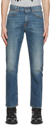 McQ Indigo Washed Jeans