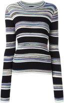 Joseph striped jumper - women - Cotton/Viscose - XL