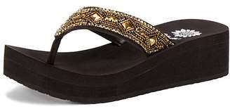 Yellow Box Shoes Women's Sandals Bronze - Bronze Reecee Leather Sandal - Women