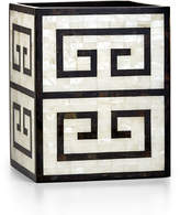 Labrazel Greek Key Wastebasket