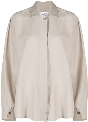 Soulland Kia relaxed fit shirt