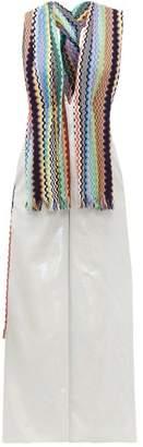 M Missoni Vintage-scarf Lame Jumpsuit - Womens - Multi