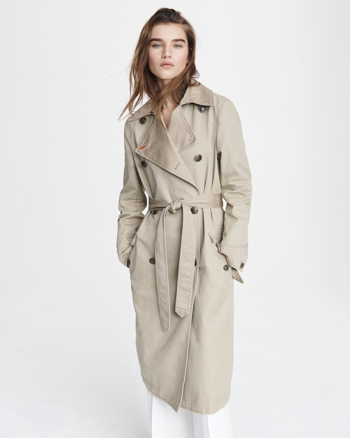 Rag & BoneRag and Bone Adriene cotton coat