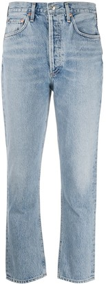 AGOLDE Cropped Skinny-Fit Jeans