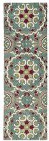 Leon Hand-Tufted de Suzani Grey Rug (2'6 x 8'0)