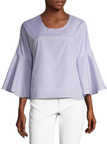 Lucca Couture Bell Sleeve Blouse