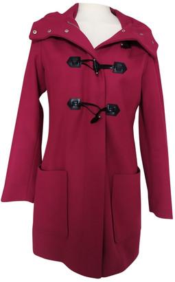 Benetton Pink Wool Coats