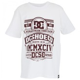 DC Shoes White Branded Tee
