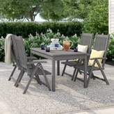 Beachcrest Home Andromeda 5 Piece Dining Set