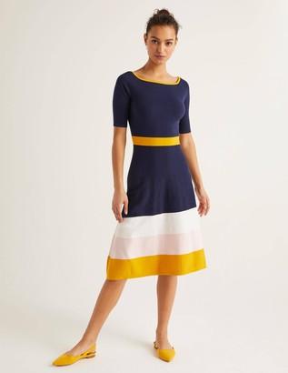 Jemima Stripe Knitted Dress