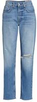 Thumbnail for your product : Rag & Bone Rosa Mid-Rise Boyfriend Jeans