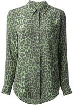 Equipment leopard blouse