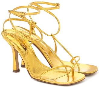 Bottega Veneta Line leather sandals