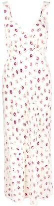 Rixo Buttercup Ditsy-Print Midi Dress