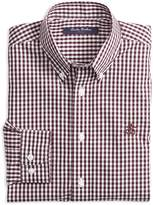 Brooks Brothers Boys' Non-Iron Gingham Sport Shirt