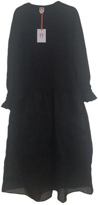 Shrimps Black Cotton Dresses