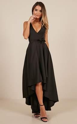 Showpo Magic Dancer dress in black - 8 (S)