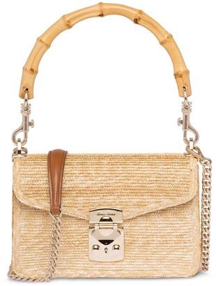 Miu Miu Bamboo Top Handle Bag