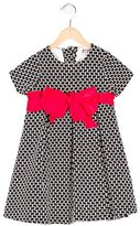 Helena Girls' Bow-Accented Knit Dress