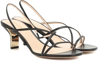Nicholas Kirkwood Leeloo 60 leather sandals