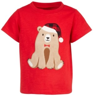 First Impressions Baby Boys Bear T-Shirt, Created for Macy's