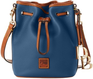 Dooney & Bourke Pebble Grain Small Drawstring