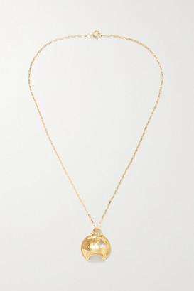 Alighieri La Forza Gold-plated Necklace