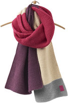 Joules Women's Annis Oversized Scarf - Ruby