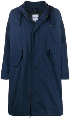 Aspesi oversized hooded coat