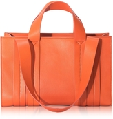 Corto Moltedo Costanza Orange Persimmon Medium Tote