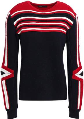 Maje Intarsia-knit Sweater