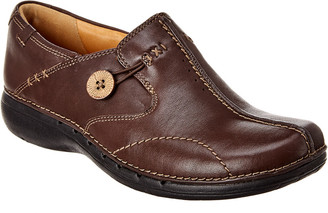Clarks Un Loop Leather Slip-On