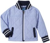 Andy & Evan Quilted Chambray Jacket (Baby) - Blue 18-24 Months