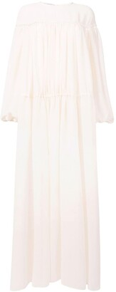 Philosophy di Lorenzo Serafini Long Summer Dress