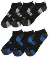 Puma 6-Pack Cushioned Low Cut Socks