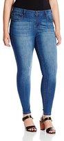 Celebrity Pink Jeans Women's Plus-Size Stretch Basic 5 Pocket Skinny Jean