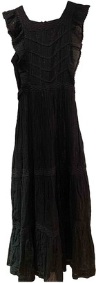 soeur Black Cotton Dresses