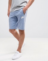 Nike Advanced Knit Shorts In Blue 837014-450