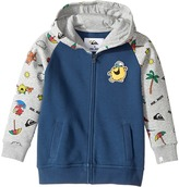 Quiksilver Mr. Men Hooded Zip Hoodie Boy's Sweatshirt
