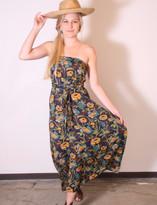 Tysa Tie Up Tube Dress In Edie