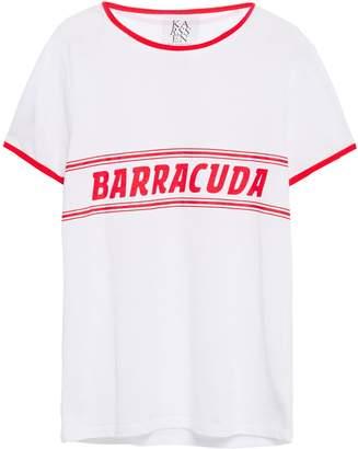Zoe Karssen Baracuda Printed Cotton-jersey T-shirt