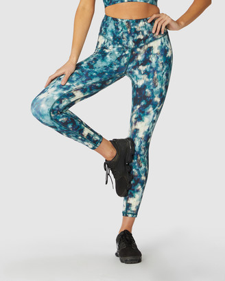 L'urv - Women's Blue Tights - Solar System 7-8 Leggings - Size One Size, XS at The Iconic