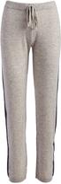 Three Dots Granite Stripe Alana Cashmere Lounge Pants
