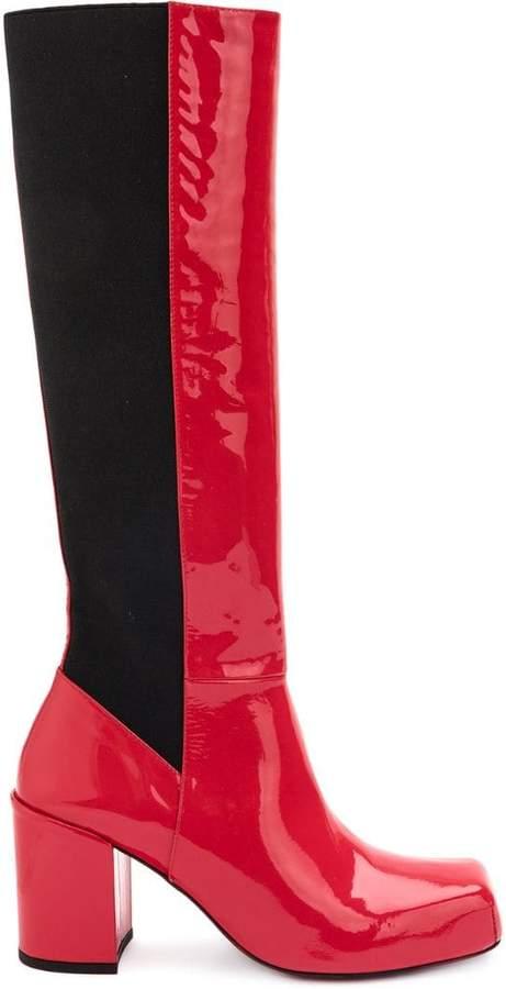 Aalto block heeled boots