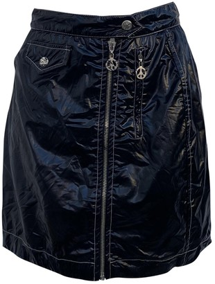 Moschino Cheap & Chic Moschino Cheap And Chic Black Patent leather Skirt for Women Vintage