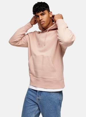 Topman Pink Classic Hoodie