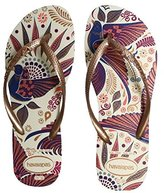Havaianas Brazil Slim Royal Bird's Charm Women's Sandal Flip Flops All Sizes