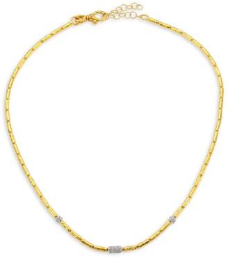 Gurhan Vertigo 24K Gold & Diamond Single Strand Necklace
