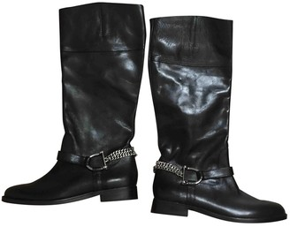 Ralph Lauren \N Black Leather Boots