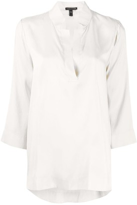 Eileen Fisher Inverted Collar Tunic